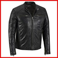 Cheap price ladies leather jacket