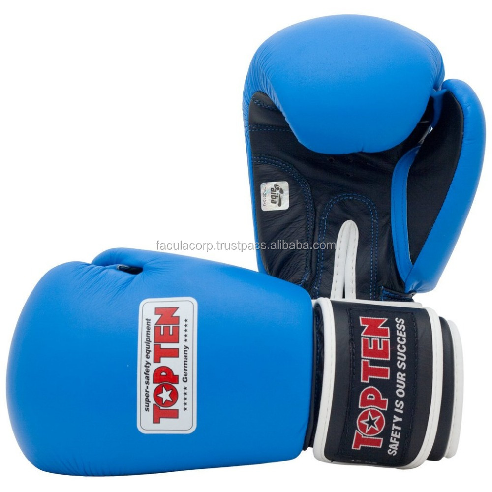 new top ten Boxing Gloves, Custom Fight Gloves and Gears, Custom Logos are Accepted FS-01-113
