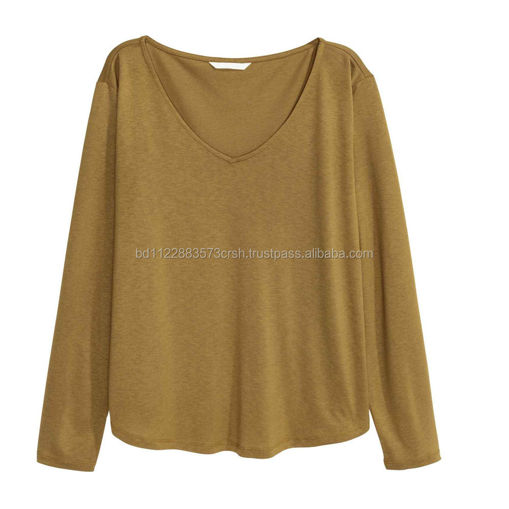 O-neck collar long sleeve and adults age group 2016 casual clothing