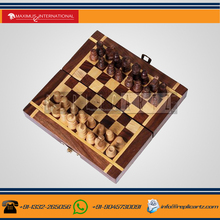 Folding Wooden Indoor Sports Chess Games