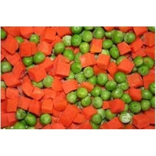 Frozen green Peas and Carrots