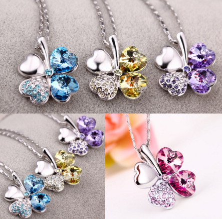 colorful and beautiful necklace fashion jewelry
