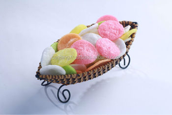 New Orient Product Big Prawn Crackers 5 colors Snack