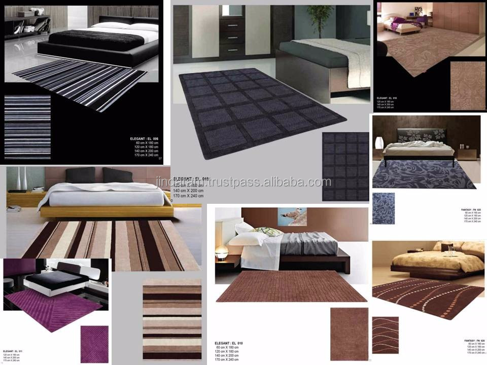 Luxurious cotton carpets for hotels
