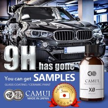 Water-repellent Japan-made nano ceramic coating 9h wax with fast delivery