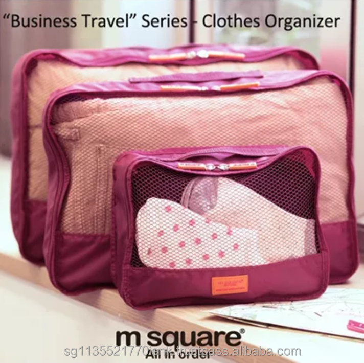 M Square Business Travel Clothes Organizer 2 Sizes, waterproof and foldable