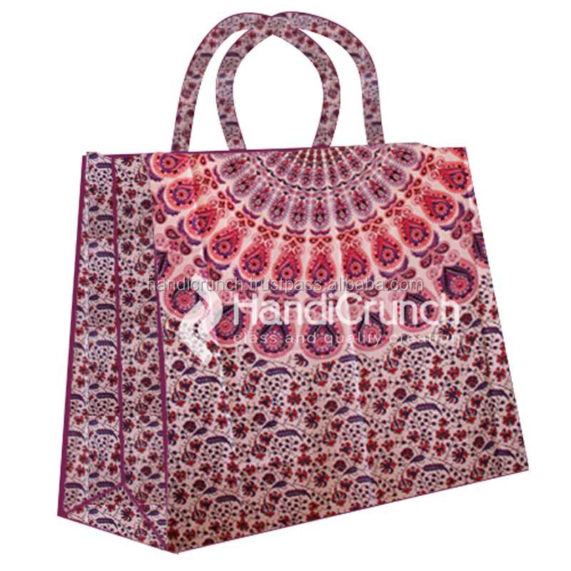 mandala cheap shopping ladies handbag