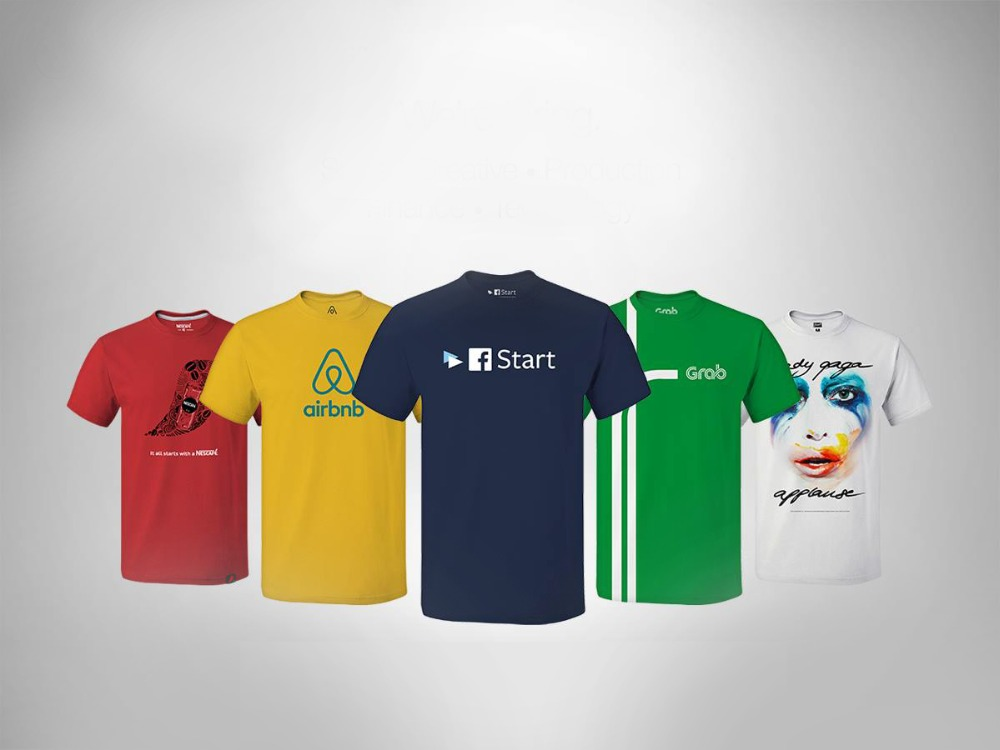 High Quality Customised T-shirt Printing