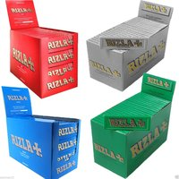 Rizlas Rolling Papers - Red,Blue,Green,Silver - all colors, all sizes wholesale Price