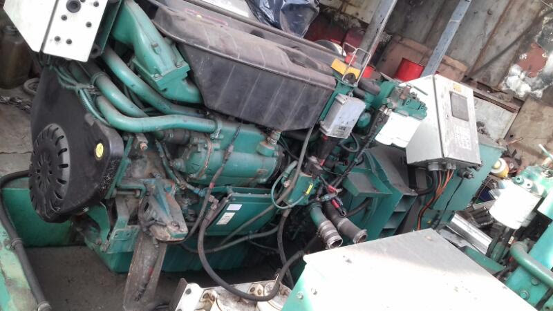 Volvo Penta d9 mg generator set used