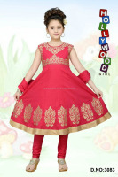 EMBROIDERED BOUTIQUE Girls Anarkali Dress