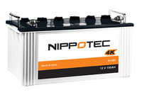 Nippotec 4 K- Dry Charged Solar Battery 100Ah