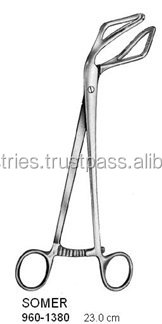 SOMER Uterine Elevating Forceps / Gynecoogy Surgical Forceps