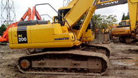 excavator komatsu PC200-7 Japan's production for sale