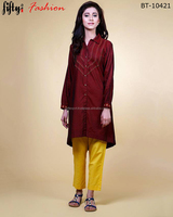 Stylish Shirt Style Kurtas For Women