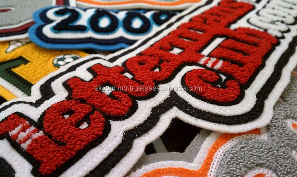 chenille patch letterman varsity jacket,custom chenille patch baseball varsity jacket/college chenille patches varsity jacket