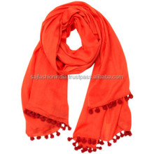 Dubai Long Plain Color 100% Cotton Scarf Wholesale scarf scarves
