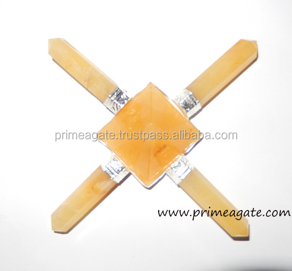 Yellow Aventurine Healing Metaphysical Energy Generator Tools For Sale