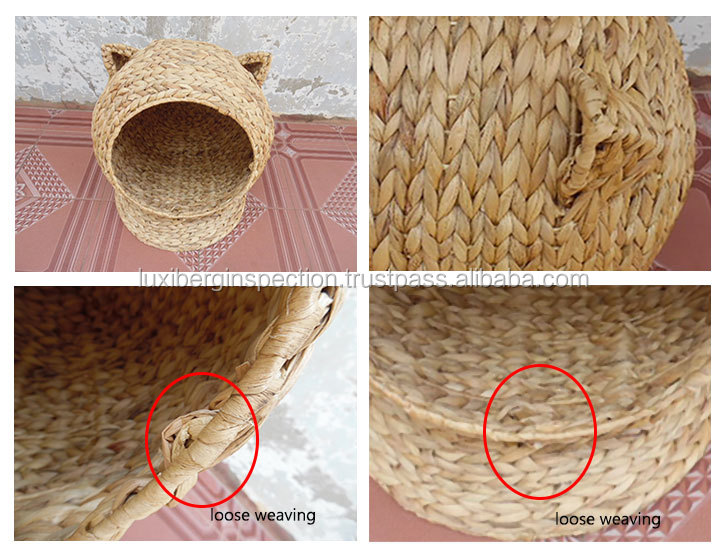 Pets Products Quality Inspection / Cat Bed Quality Control Inspection / Third Party Inspection