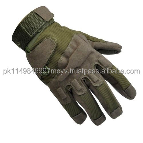 Military Tactical Airsoft Hunting Shooting Motorcycle Army Green Black Gloves