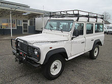 USED CARS - LAND ROVER DEFENDER 110 TD5 STATION WAGON (LHD 8520)