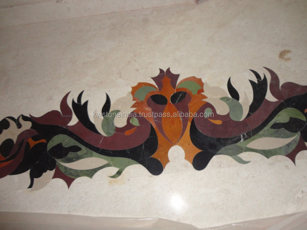 Waterjet Marble Inlay