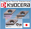 Reliable and Durable metal cutting Kyocera insert for automatic lathe