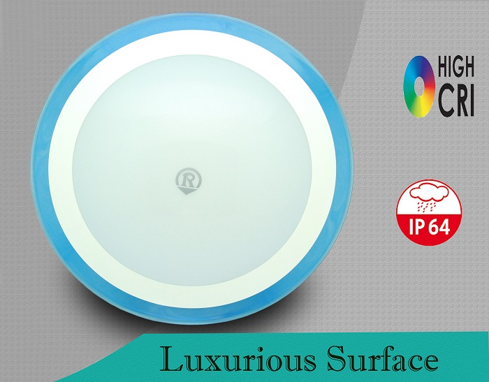 12W IP64 anti insect function color temperature 3000K or 6500K led ceiling light