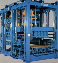 MAGNUM TYPE CONCRETE BLOCK MAKING MACHINE