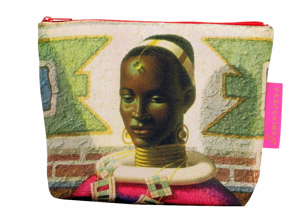 Tretchikoff Woman of Ndebele Cosmetic Bag