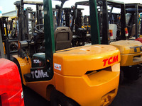 high quality manual forklift TCM 3ton/ ISUZU engine used 3ton TCM forklift for sale!