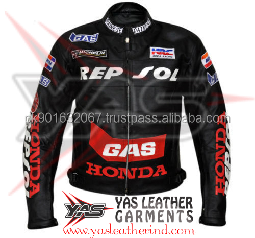 Men Racing Leather Jackets- Motorcycle Leather Jackets- Motorbike Racing Leather Jackets-Bikers Leather Jackets-Sports Jackets