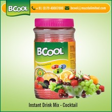 Cost Effective Cocktail Instant Drink Mix Powder for Bulk Supply