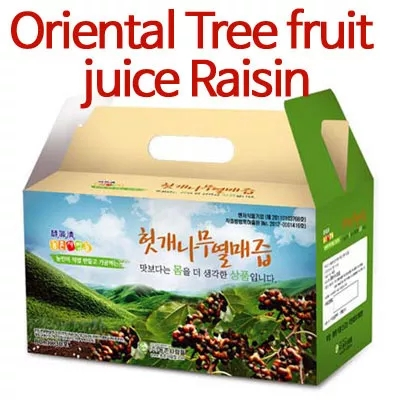 Oriental Tree fruit juice raisin 100ml * 30pcs/juice bags/healthy food