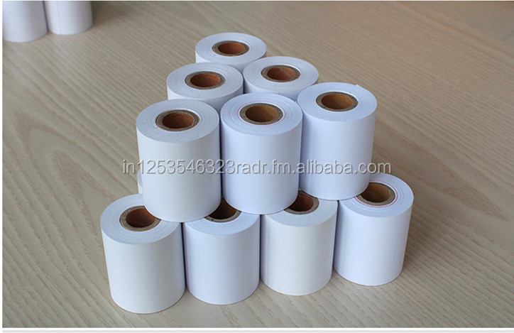 Thermal paper for POS, Credit Card Rolls, ATM Rolls available in all sizes
