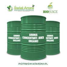 Organic Aronia Concentrate Juice, Chokeberry concentrate juice