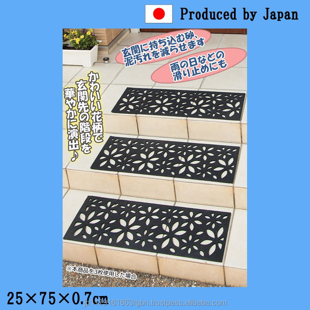 High quality and Long-lasting anti slip rubber mat for outdoor stairs at reasonable prices