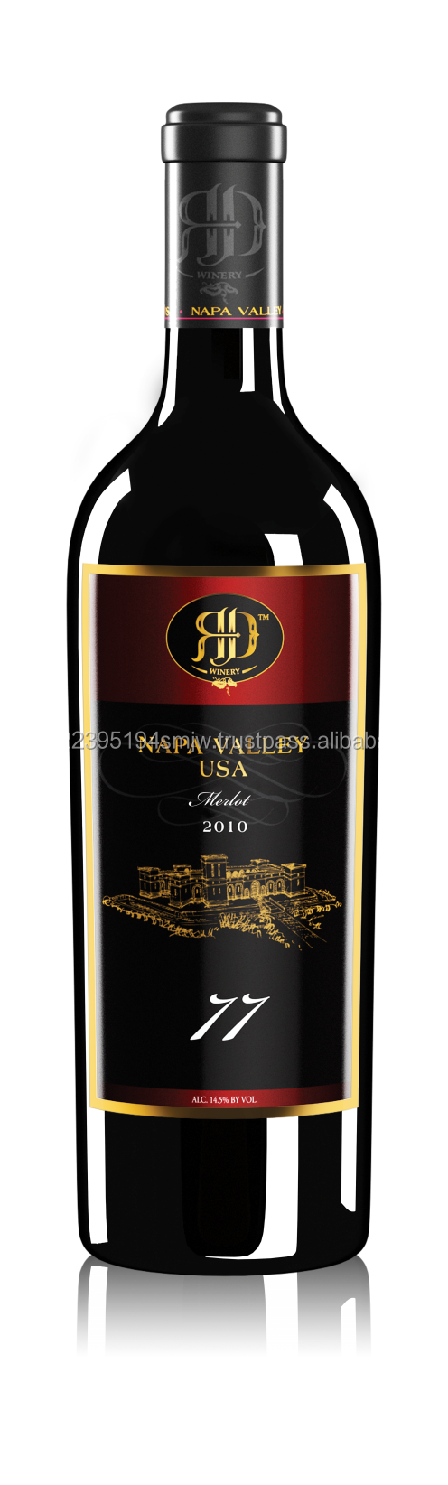 Red Wine 77 Merlot 2010- RD Winery Red Wine Product 230517