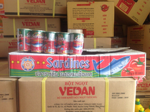 Sardines in Tomatoes Sauce 155g/ Vietnam Canned Fish