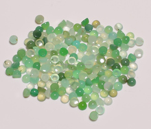 Beautiful Gems !! Best Price Chrysoprase Cabochon Round Shape Loose Gemstones