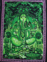 hand BATIK GODS PRINTED WALL HANGINGS 100 PCS LOT