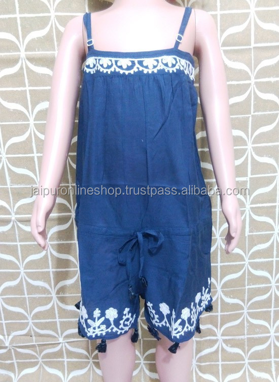 Buy Indian Girls Jumpsuits & Dungarees
