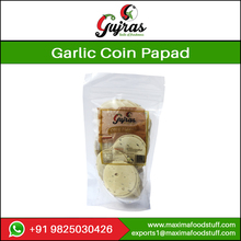 Coin Double Pepper Papad