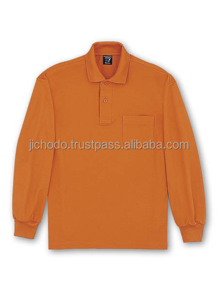 Long sleeve polo shirts quick dry ( spring and summer ). Made by Japan