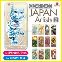 Kawaii original clear smartphone cover for iPhone 6 Plus case made in Japan