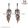 Pave Diamond Chandelier Jhumka Earring Supplier