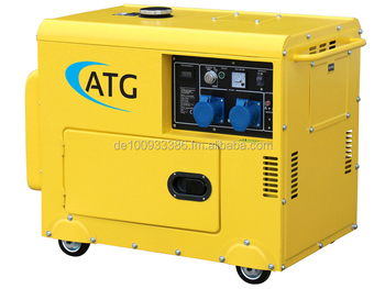 waste used vegoil multiluel generator 6kVA 230V automatic start