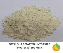 Soy Flour Defatted Untoasted / Swelling flour