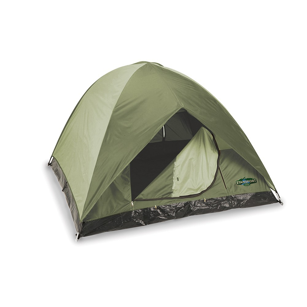 TROPHY HUNTER TENT- 7FT X 7FT X 54 IN- DARK OLIVE/TAN #725-15