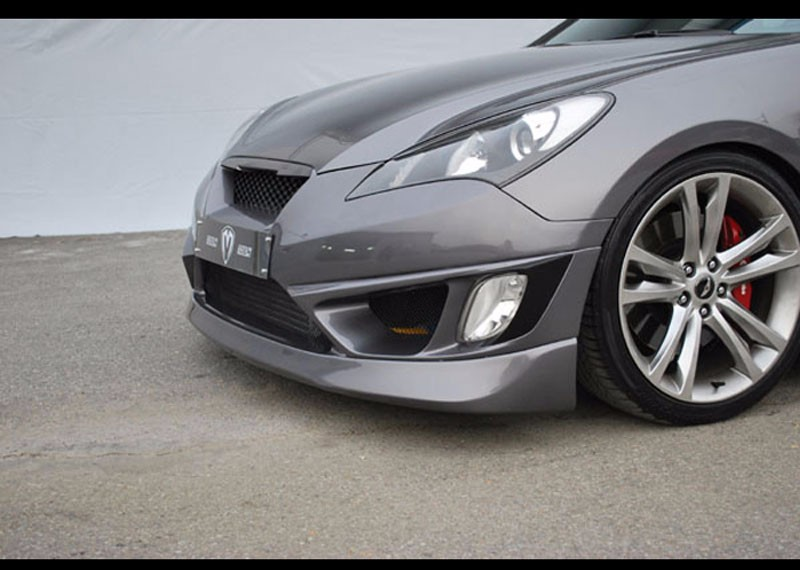[M&S] Genesis Coupe - Night Road New Front Bumper (Fog Lights Type)(no.2210)